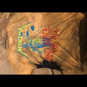 Metallica distressed T-shirt